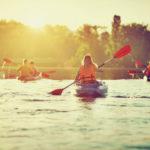 curso iniciación piraguismo en kayak extremadura