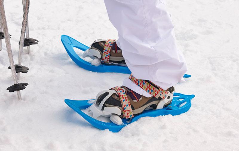 curso raquetas de nieve bastones extremadura gredos