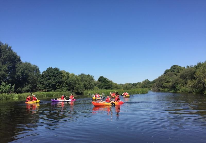 Descenso en Kayak rio Alagon